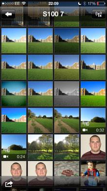 Canon Powershot S120 App Screenshot 1