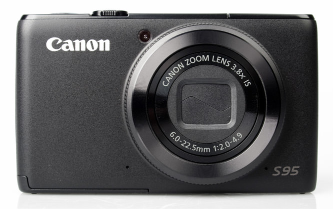 Canon Powershot S95 front