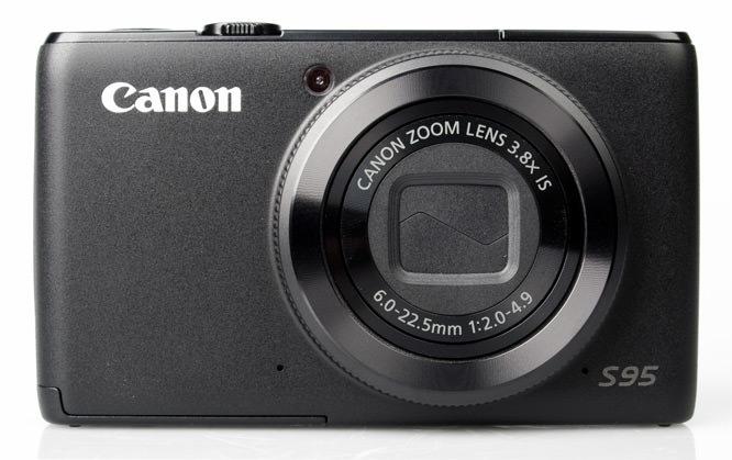 Canon Powershot S95 front