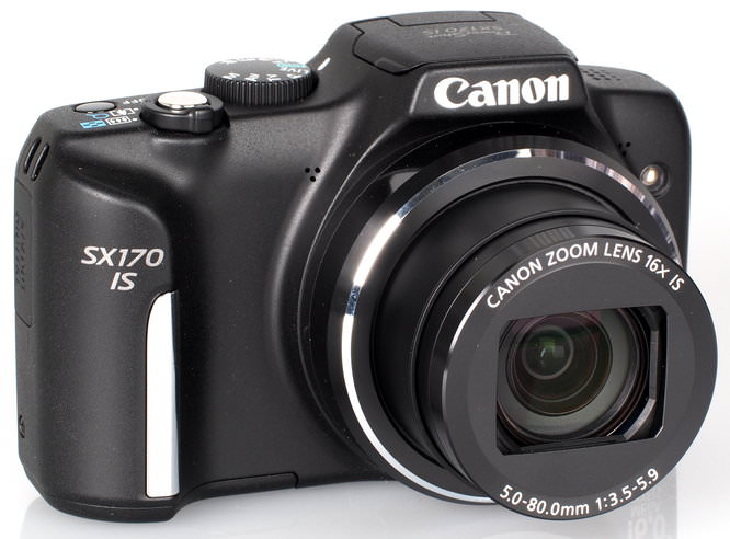 Canon Powershot SX170 IS Black (3)