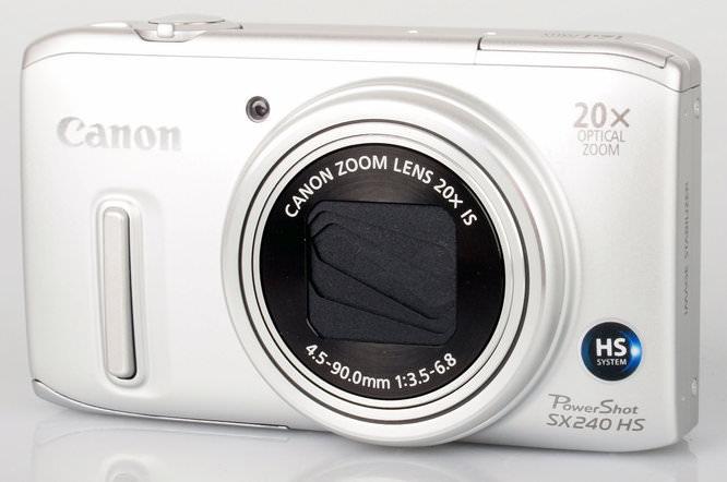Canon Powershot Sx240 Hs Front 2
