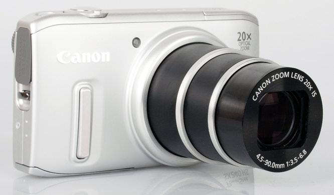 Canon Powershot Sx240 Hs Lens Extended