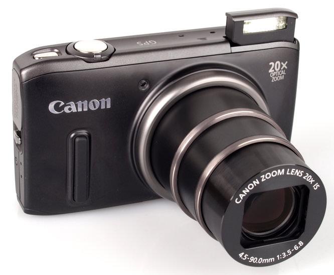 Canon Powershot Sx260hs Front On