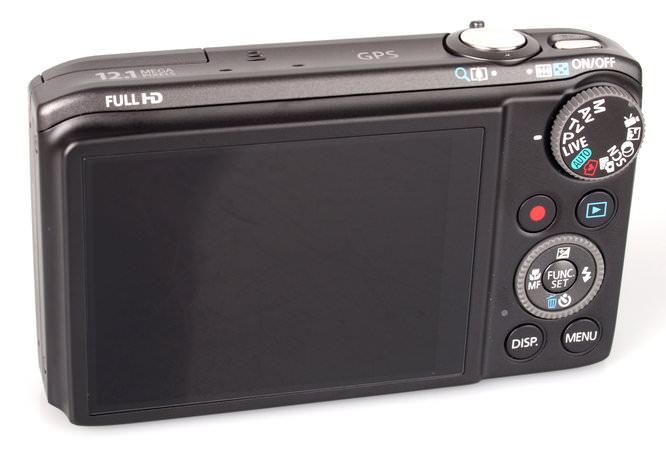 Canon Powershot Sx260hs Rear