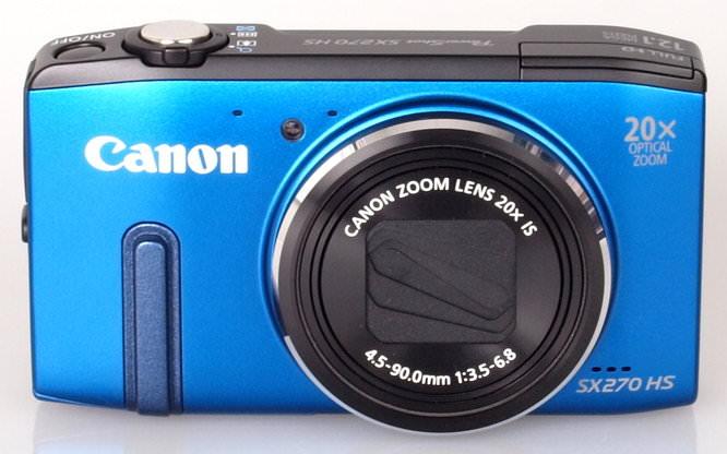 Canon Powershot SX270 Blue (1)