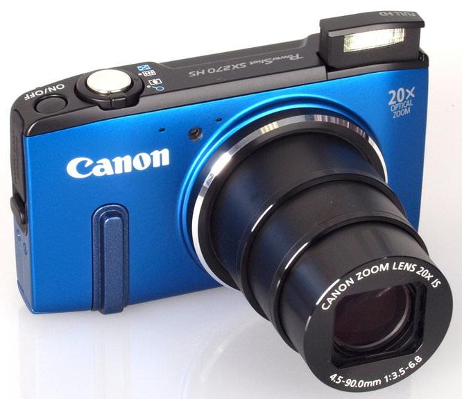 Canon Powershot SX270 Blue (4)