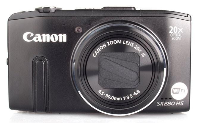 Canon Powershot Sx280hs Black (2)