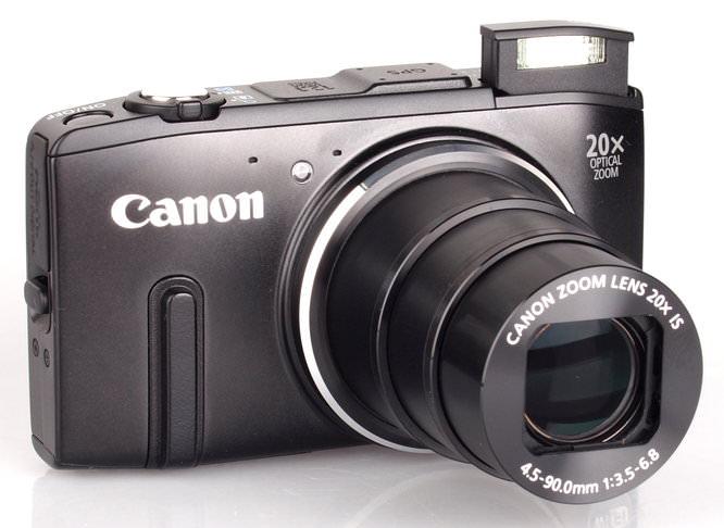Canon Powershot Sx280hs Black (4)