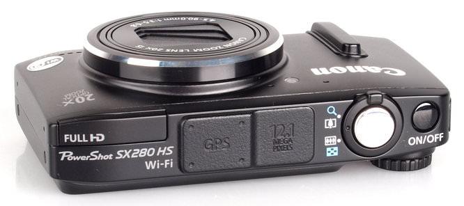 Canon Powershot Sx280hs Black (5)