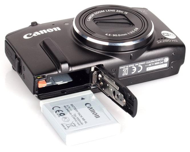 Canon Powershot Sx280hs Black (6)