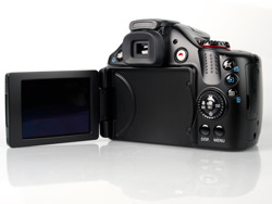 Canon PowerShot SX30 IS back screen