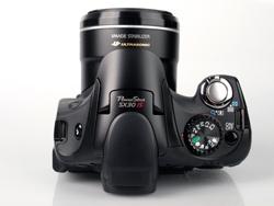 Canon PowerShot SX30 IS top