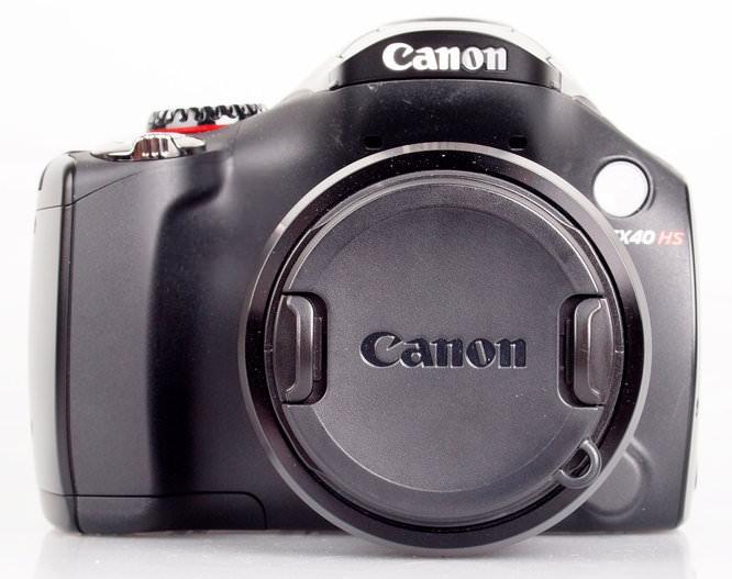 Canon PowerShot SX40 HS front