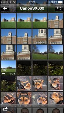 Canon Powershot Sx600 Hs App Screenshot 1