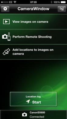 Canon Powershot Sx600 Hs App Screenshot 2