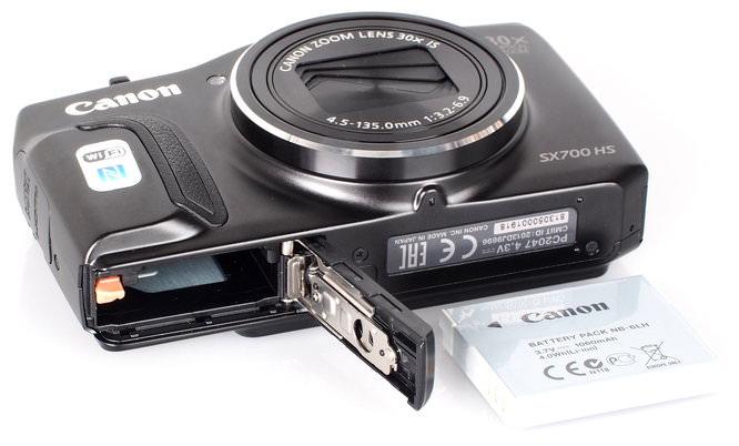 Canon Powershot SX700 HS Black (1)