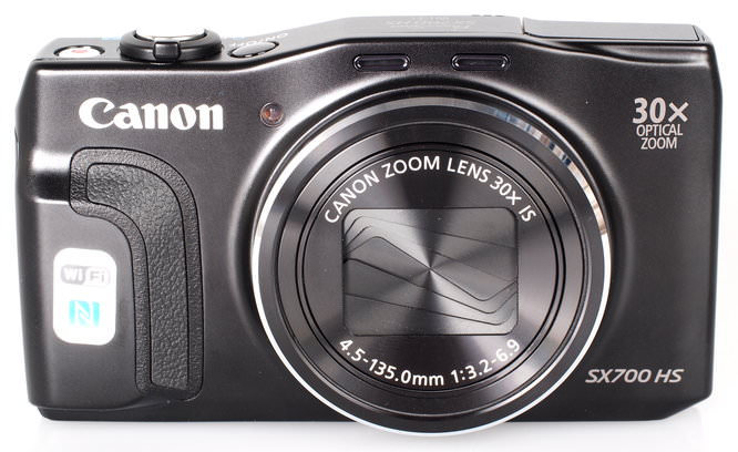 Canon Powershot SX700 HS Black (2)