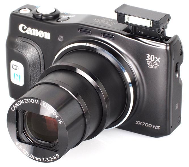Canon Powershot SX700 HS Black (5)