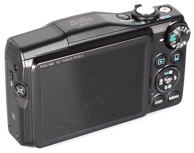 Canon Powershot SX700 HS Black (6)