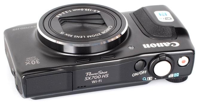 Canon Powershot SX700 HS Black (7)