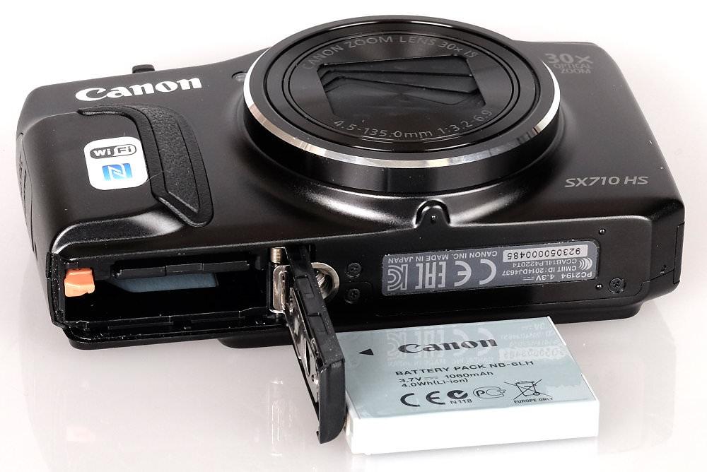 Canon Powershot SX710 Black (1)