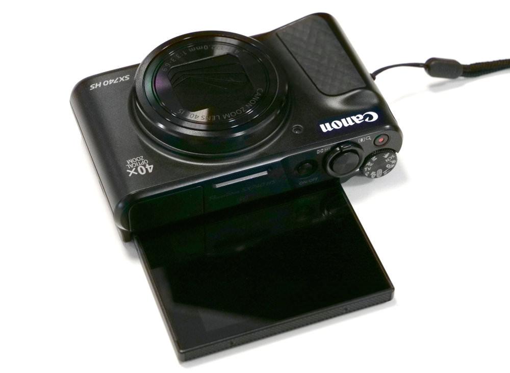 Canon Powershot SX740 HS Black (4)