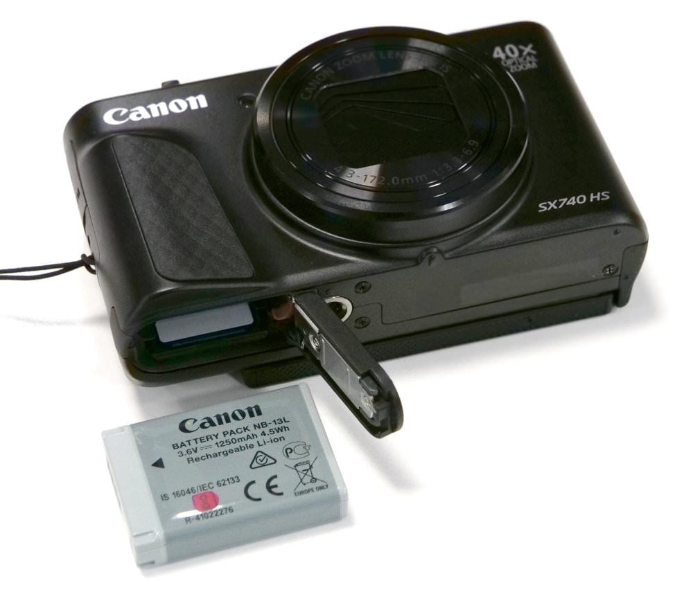 Canon Powershot SX740 HS Black (5)
