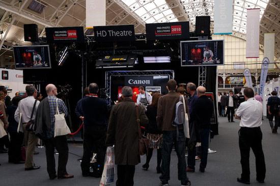Canon Pro Photo Solutions Show 2010 Canon HD Theatre
