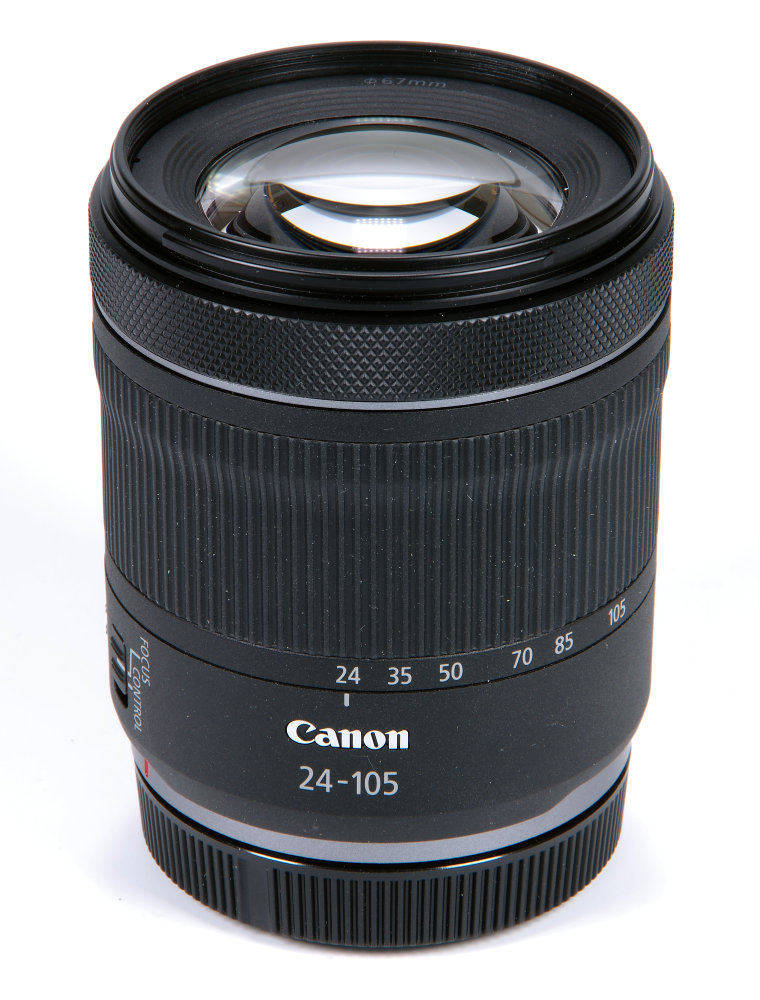 Canon Rf 24 105mm F4,7 7,1 IS STM Vertical View