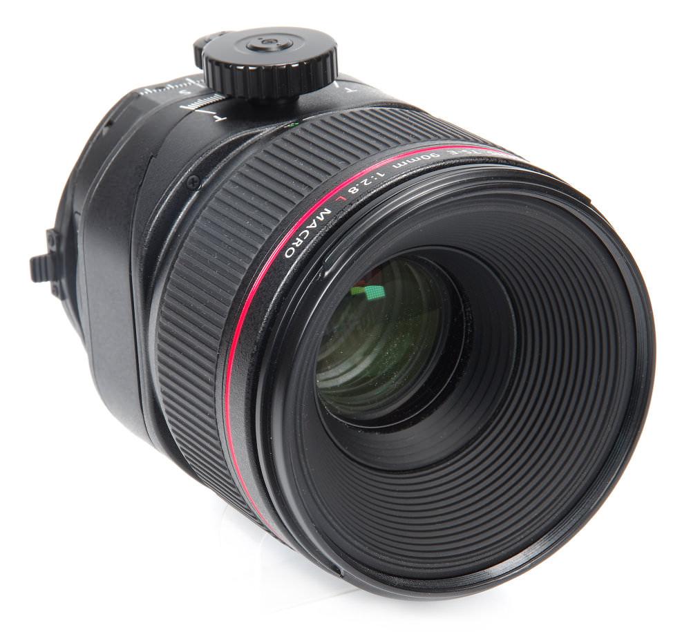 Canon Ts E 90mm F2,8l Macro Front Oblique View