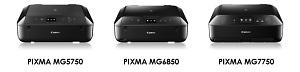 Canon Update PIXMA Printers