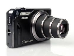 Casio Exilim EX-H15 lens