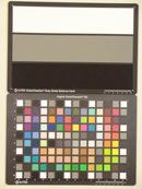 Casio Exilim EX-H15 Test chart ISO1600
