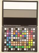Casio Exilim EX-H15 Test chart ISO400