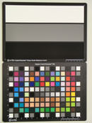 Casio Exilim EX-H20GTest chart ISO100