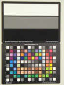 Casio Exilim EX-H20GTest chart ISO1600