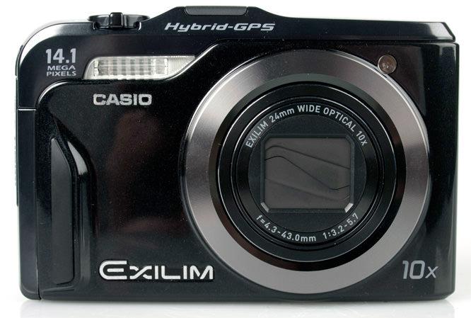 Casio Exilim EX-H20G front