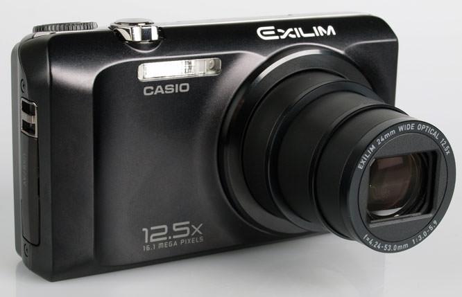 Casio Exilim EX-H30 front lens
