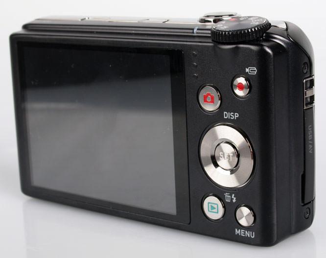 Casio Exilim EX-H30 Rear