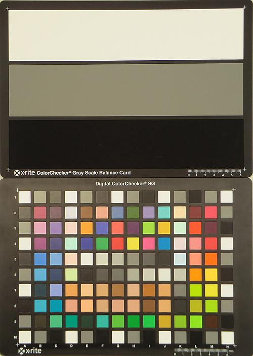 Casio EX-H5 ISO Test Image