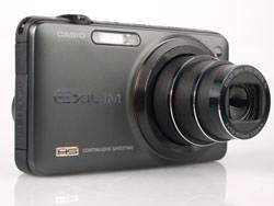 Casio Exilim EX-ZR10 front lens
