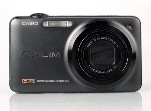 Casio Exilim EX-ZR10 front