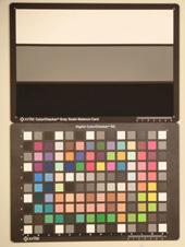 Casio Exilim EX-ZR10 Test chart ISO800