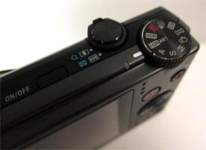 Casio Exilim HS100 Dial