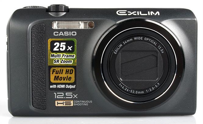 Casio Exilim ZR100