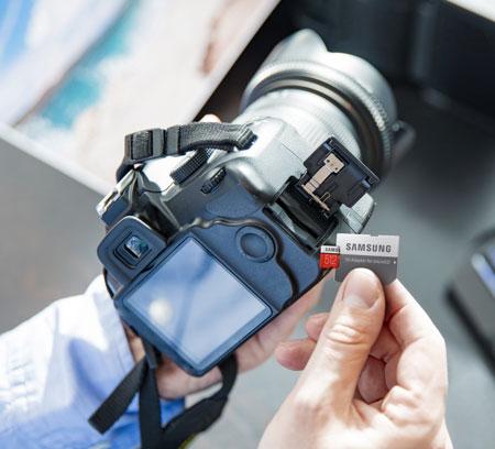 Samsung 128GB EVO Plus microSD Card with SD Adapter