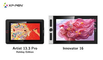 Artist 13.3 Pro Holiday Edition & Innovator 16