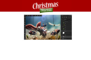 Christmas Prize Draw Day 13 - Win A Copy Of Affinity Photo And An Affinity Photo Workbook!