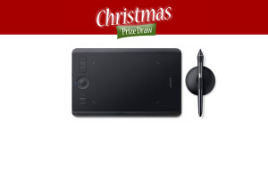 Christmas Prize Draw Day 5 - Win A Wacom Intuos Pro Small!