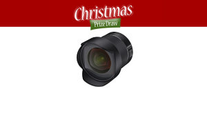 Christmas Prize Draw Day 6 - Win A Samyang AF 14mm f/2.8 Lens!